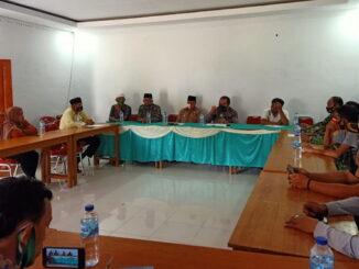 Pertemuan Leonardy Harmainy dengan masyarakat Padang Alai.