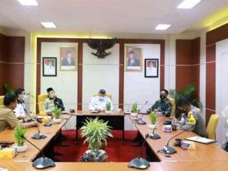 Rapat Walikota dengan Forkominfo Kota Solok.