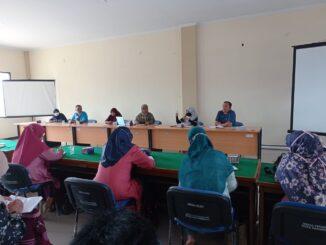 Rapat bersama kepala sekolah tahfidz.