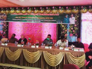 Suasana Kunjungan dan Orasi Kebudayaan yang digelar BPNB Sumbar dan HWK Sumbar bersama DPD RI.