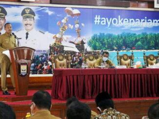 Wali Kota Pariaman paparkan capaian kinerja Indikator Makro Daerah.