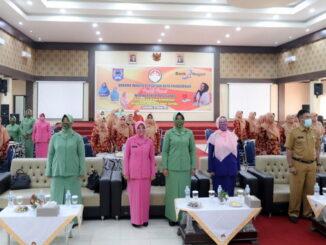 Webinar Inspirasi Sehat yang digelar Dharma Wanita Persatuan (DWP) Kota Payakumbuh.