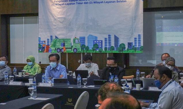 Aanwijzing Prakualifikasi Ulang Pemilihan Mitra untuk Proyek Kerja Sama Fasilitas Pengelolaan Sampah Antara (FPSA) di Dalam Kota DKI Jakarta.