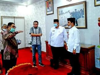 Audiensi ketua BP YMMY dan rektor UMMY dengan Walikota Solok.