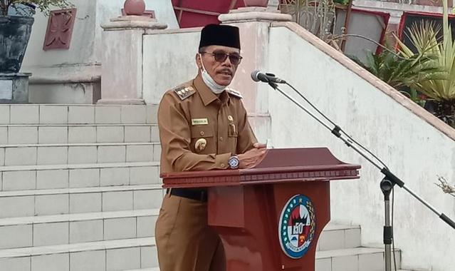 Bupati 50 Kota Safaruddin Dt. Bandaro Rajo.