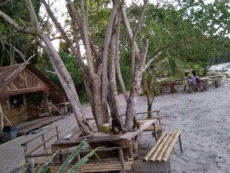 Destinasi wisata desa goisooinan kecamatan Sipora Utara.