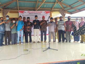 Foto bersama saat pemilihan Bamus Batubolang.