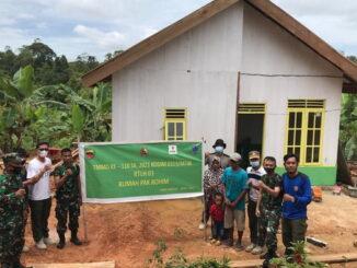 Hasil renovasi RTLH di Bukit Pamewa.