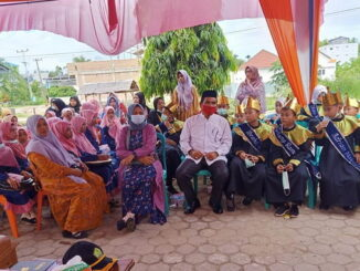 Masdan saat meresmikan wisuda tahfidz Al Qur'an di Lengayang.