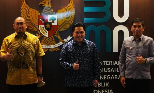 Menteri BUMN, Anggota Komisi VI DPR RI dan Walikota Sawahlunto.