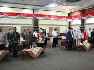 Penetapan bupati dan wakil bupati Solok terpilih.