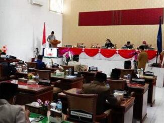 Pidato Pengantar Walikota Sawahlunto dalam LKPJ 2020.
