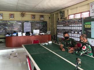 Posko dan Timkes kodim 0319-Mentawai satgas TMMD ke -110.