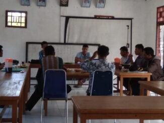 Rakor P2KD Desa Goiso'oinan Kecamatan Sipora Utara Kabupaten Kepulauan Mentawai.