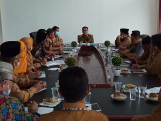 Rapat persiapan Kafilah MTQ Kabupaten Limapukuh Kota.
