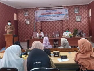 Serah terima jabatan Direktur RSUD Solok Selatan.