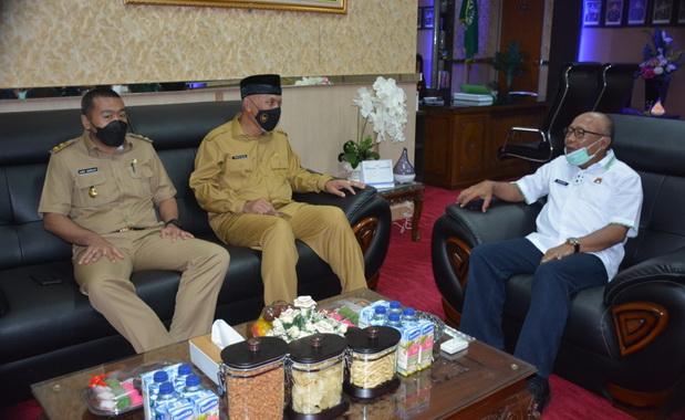 Silaturrahmi Gubernur dan Wagub Sumbar dengan Kabinda.