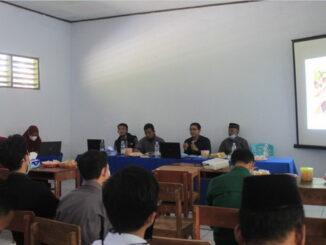 Suasana Webinar Pendidikan yang digelar Ponpes Sains Salman Assalam.