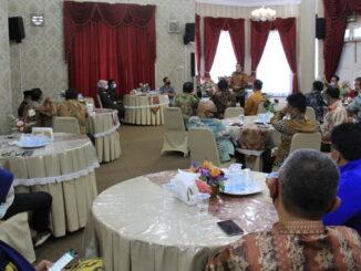 Temu ramah Pj. Bupati Solok dengan Kejari Solok dan Kepala PN Kotobaru.