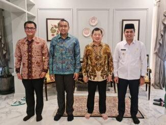 Wagub Audy bersama menteri PPN/Bappenas.