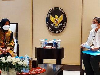 Walikota Sawahlunto dan Menteri Sosial Republik Indonesia.