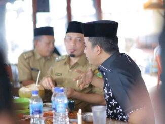 Wawako Solok saat di Pemko Bengkulu.
