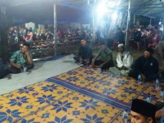 Acara syukuran kaum suku Chaniago di Kambang.