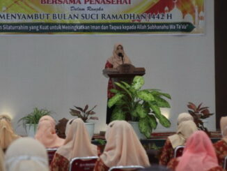DWP Bukittinggi adakan pertemuan silaturahmi menyambut bulan suci Ramadhan 1442 H.