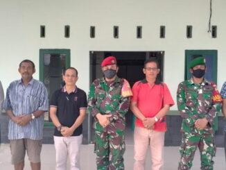 Foto bersama saat memperingati HUT Corp Baret Merah Komando.