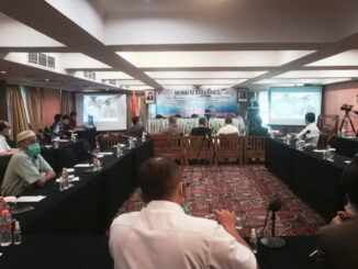 Munas IV Akbarindo pada Kamis, 8 April 2021 di Hotel Ambhara, Jakarta.