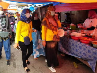 Pasar Pabukoan Lubuk Sikaping.
