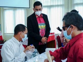 Pelatihan buat tuna netra di Jakarta Timur.