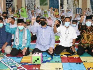 Peluncuran Masjid Darul Huda sebagai masjid ramah anak.