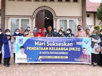 Penadataan Keluarga di Payakumbuh.