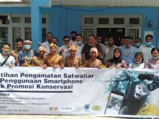 Peserta pelatihan yang dilaksanakan di Desa goisooinan kecamatan Sipora Utara Kabupaten Kepulauan Mentawai Sumbar.