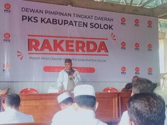 Rakerda DPD PKS Kab. Solok.