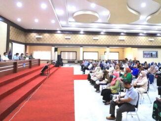 Rapat evaluasi penanganan Covi-19 di Kota Payakumbuh.