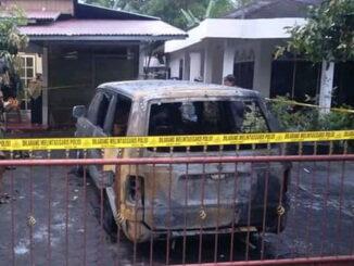 Rumah ninik mamak yang diteror bom molotov.