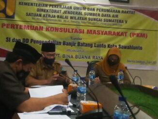 Sekretaris Daerah Kota dan Asisten II Bidang Pembangunan.