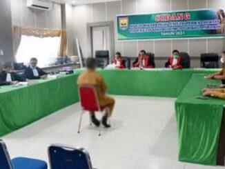 Sidang MP TPTGR pertama Kota Pariaman pada tahun 2021.