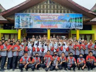 Siswa SMK 1 Lubuk Sikaping yang mengikuti PKL.
