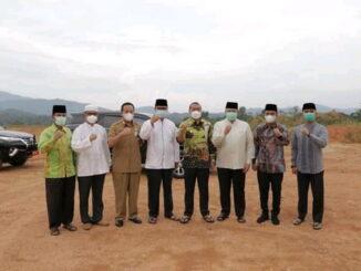 Wakil Gubernur Sumatera Barat bersama Tim Safari Ramadhan Provinsi saat berkunjung ke Kota Solok.