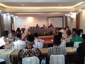 Acara halal bihalal Ninik Mamak Nagari Bawan bersama Yus, Dt, Parpatiah di Lubuk Basung.