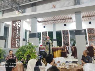 Buka bersama Ketua DPRD Kota Solok dengan insan pers.