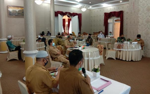 Diskusi politik menyambut Idul Fitri 1442 H di Kab. Solok.