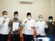 Foto bersama usai penerimaah Opini WTP.