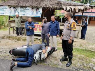 Korban pembacokan di Pariaman.