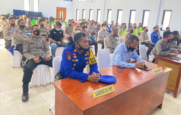 LatpraOps Ketupat 2021 di jajaran Kepolisian Mako Polres Kepulauan Selayar.
