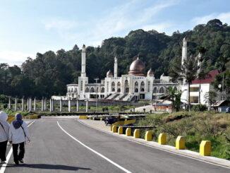 Masjid Islamic Center Padang Panjang, salah satu tempat kegiatan MTQ Sumbar ke-39 2021