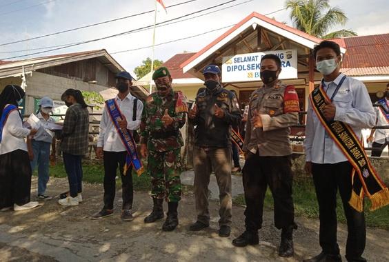 Operasi yustisi Covid-19 di Sipora, Mentawai.